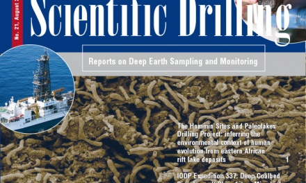 Scientific Drilling Journal vol 21 is released