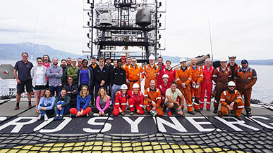 News from Expedition 381