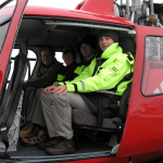 Teachers at sea during Expedition 302 Arctic Coring
