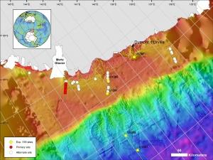 Expedition 373 Antarctic Cenozoic Paleoclimate - Sitemap