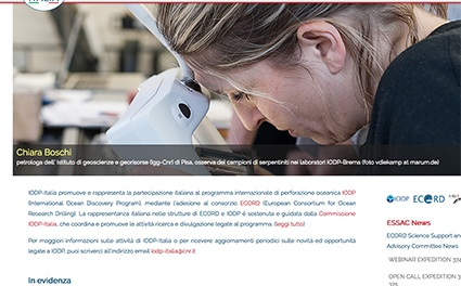 IODP Italia has launched its new website