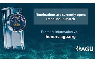 AGU's Taira Prize 2018