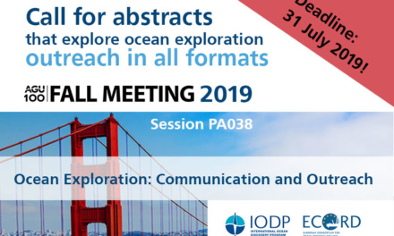 Call for abstracts: outreach in all formats, AGU 2019