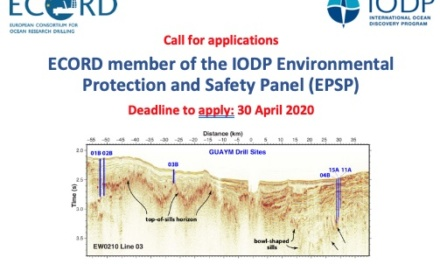 Call: IODP Environmental Protection and Safety Panel (EPSP)