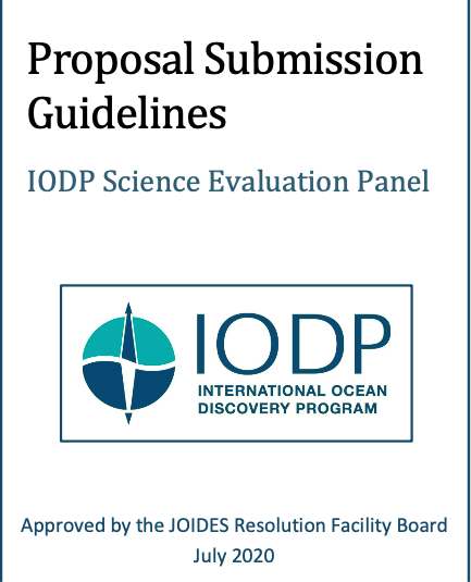 Revised Proposal Submission Guidelines