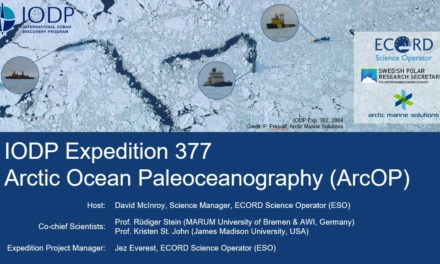 IODP Expedition 377 ArcOP – Webinar at EGU2021
