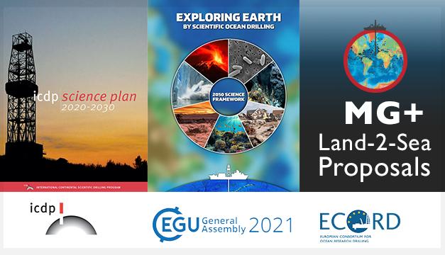 IODP and ICDP New Science Plans and Land-2-Sea proposals – Webinar at EGU2021