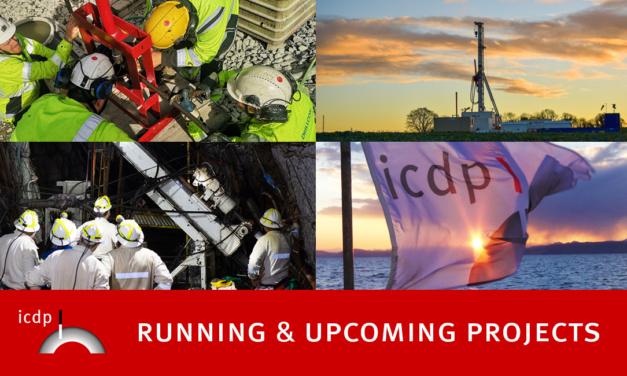 ICDP Running & Upcoming Projects – Webinar at EGU2021