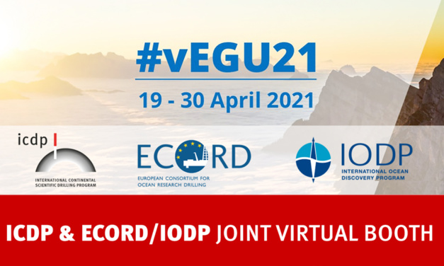 Scientific Drilling at vEGU21 – IODP/ECORD-ICDP joint booth