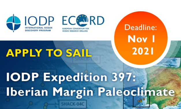 CALL FOR APPLICATIONS IODP Expeditions 397: Iberian Margin Paleoclimate
